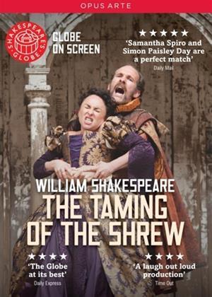 Rent Shakespeare's Globe: The Taming of the Shrew Online DVD Rental