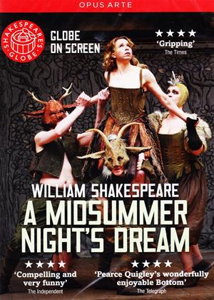 Rent Shakespeare's Globe: A Midsummer Night's Dream Online DVD Rental