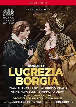Rent Donizetti: Lucrezia Borgia: Royal Opera House (Richard Bonynge) Online DVD Rental