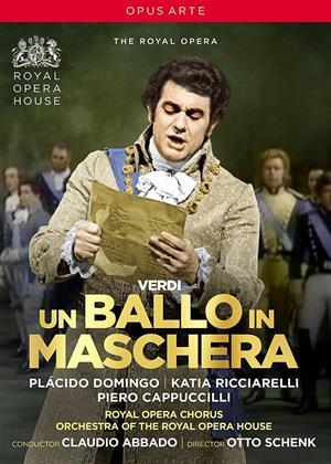 Rent Verdi: Un Ballo in Maschera: Royal Opera House Online DVD & Blu-ray Rental