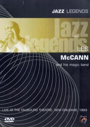 Rent Jazz Legends: Les McCann Online DVD Rental