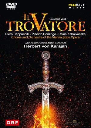 Rent Il Trovatore: Vienna State Opera (Herbert von Karajan) Online DVD & Blu-ray Rental
