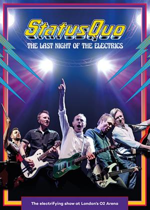 Rent Status Quo: The Last Night of the Electrics Online DVD Rental