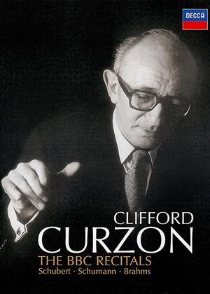 Rent Clifford Curzon: The BBC Recitals: Schubert/Schumann/Brahms Online DVD Rental