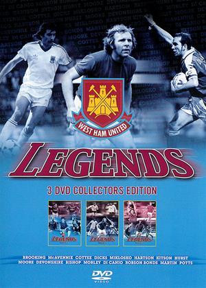 Rent West Ham United: The Legends Online DVD Rental