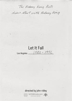 Rent Let It Fall: Los Angeles 1982-1992 (aka Let It Fall: L.A. 1982-1992) Online DVD Rental