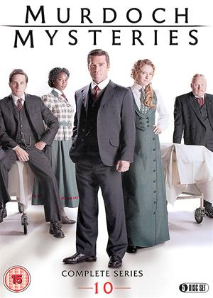 Rent Murdoch Mysteries: Series 10 Online DVD Rental