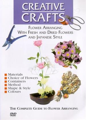 Rent Creative Crafts: Flower Arranging (aka The Complete Guide To Flower Arranging) Online DVD Rental