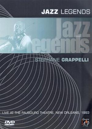 Rent Jazz Legends: Stephane Grappelli Online DVD Rental