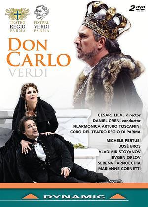 Rent Don Carlo: Teatro Regio Di Parma (Daniel Oren) Online DVD Rental