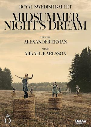 Rent Midsummer Night's Dream: Royal Swedish Ballet Online DVD Rental