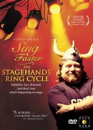 Rent Sing Faster: The Stagehands' Ring Cycle Online DVD Rental