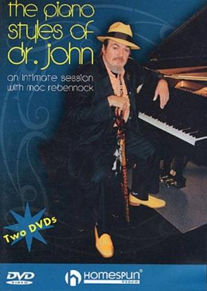 Rent The Piano Styles of Dr. John Online DVD Rental