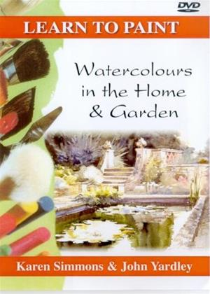 Rent Learn to Paint: Watercolours in the Home and Garden Online DVD Rental