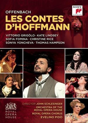 Rent Les Contes D'Hoffmann: Royal Opera House (Evelino Pidò) Online DVD Rental