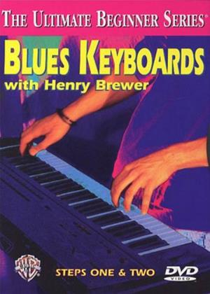 Rent Henry Brewer: Blues Keyboards: Steps 1 and 2 Online DVD Rental