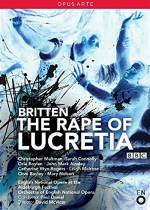 Rent The Rape of Lucretia: English National Opera (Daniel McVicar) Online DVD Rental