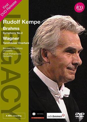 Rent Brahms: Symphony No 2 / Wagner: Tannhäuser Overture (Rudolf Kempe) Online DVD Rental