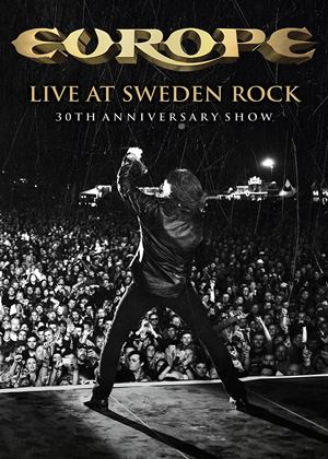 Rent Europe: Live at Sweden Rock: 30th Anniversary Show Online DVD Rental