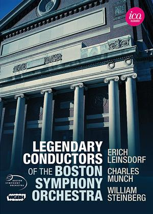 Rent Legendary Conductors of the Boston Symphony Orchestra Online DVD Rental