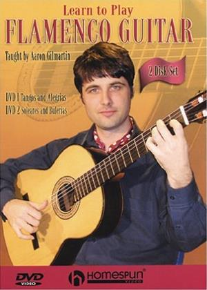 Rent Learn to Play: Flamenco Guitar Online DVD Rental