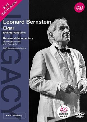 Rent Leonard Bernstein: Elgar: Enigma Variations Online DVD Rental