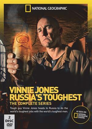 Rent Vinnie Jones: Russia's Toughest Online DVD Rental