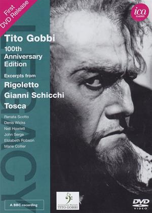 Rent Tito Gobbi: 100th Anniversary Edition (aka Tito Gobbi: 100th Anniversary Edition: Excerpts from Rigoletto/Gianni Schicchi/Tosca) Online DVD Rental