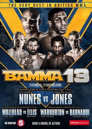 Rent The Very Best in British MMA: Bamma 13 (aka Bamma: Volume 13) Online DVD Rental
