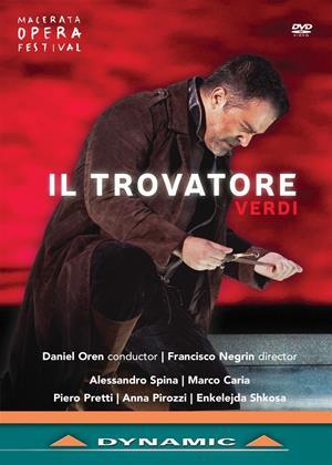 Rent Il Trovatore: Macerata Opera Festival (Daniel Oren) Online DVD Rental