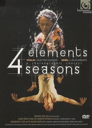 Rent 4 Elements Seasons (aka Four Elements (Rebel: Les Elements/Vivaldi: Four Seasons) A Choreographic Concert) Online DVD & Blu-ray Rental