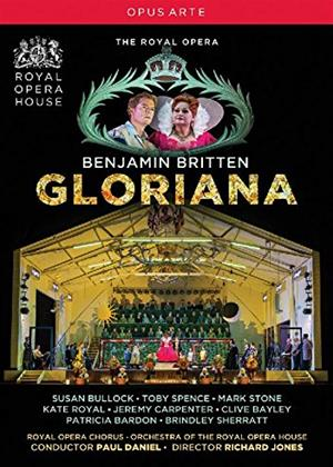 Rent Gloriana: Royal Opera House (Paul Daniel) Online DVD Rental