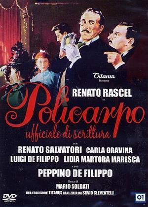 Rent Policarpo (aka Policarpo 'ufficiale di scrittura') Online DVD Rental