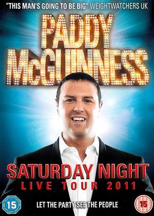Rent Paddy McGuinness: Live (aka Paddy McGuinness Saturday Night Live 2011) Online DVD & Blu-ray Rental