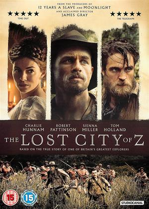 Rent The Lost City of Z Online DVD Rental