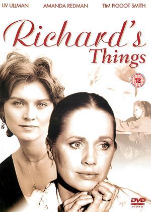 Rent Richard's Things Online DVD & Blu-ray Rental