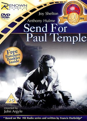 Rent Send for Paul Temple (aka The Green Finger) Online DVD Rental