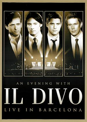 Rent An Evening with 'Il Divo': Live in Barcelona Online DVD Rental