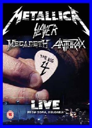 Rent Metallica, Slayer, Megadeth, Anthrax: Live from Bulgaria Online DVD Rental
