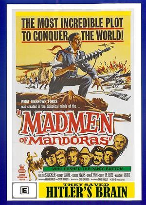 Rent They Saved Hitler's Brain (aka The Madmen of Mandoras) Online DVD & Blu-ray Rental