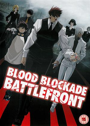 Blood Blockade Battlefront Online DVD Rental