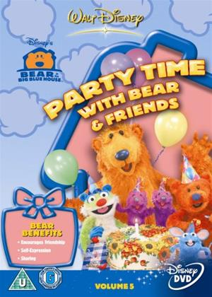 Rent Bear in Big Blue House: Party Time with Bear and Friends Online DVD Rental
