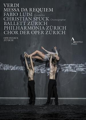 Rent Messa Da Requiem: Opernhaus Zurich (Fabio Luisi) Online DVD Rental