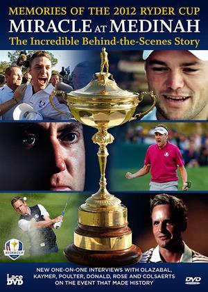 Rent Miracle at Medinah: The Incredible Behind the Scenes Story (aka Ryder Cup 2012 Miracle at Medinah: The Incredible Behind the Scenes Story) Online DVD Rental