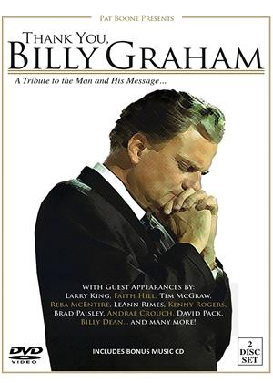 Rent Thank You, Billy Graham: A Tribute to the Man and His Message Online DVD & Blu-ray Rental