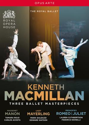 Rent Kenneth MacMillan: Three Ballet Masterpieces Online DVD Rental