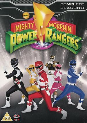 Rent Mighty Morphin Power Rangers: Series 3 Online DVD Rental