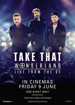 Rent Take That: Wonderland: Live from the O2 Online DVD Rental