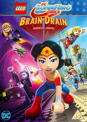 Rent Lego DC Super Hero Girls: Brain Drain Online DVD Rental