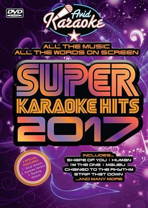 Rent Super Karaoke Hits 2017 Online DVD Rental